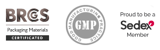 certifié ISO 9001:2008, GMP Good Manufacturing Practice, BRC Packaging Certificate